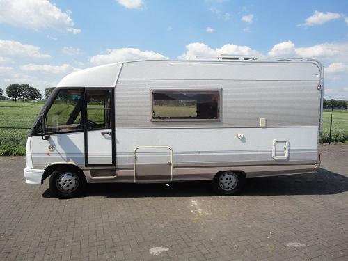Jacobs Caravans Dethleffs Globetrotter 580 01